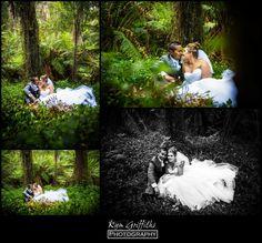 Wedding Photography at Lyrebird Falls, Kallista / Dandenong Ranges. www.kymgriffiths.com