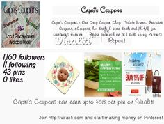 I could earn upto $58 per pin with my Pinterest account via #Viraliti