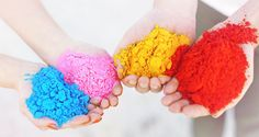 Holi Powder always adds a playful + crazy element to any shoot....so fun!