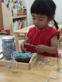 【モンテッソーリ】器用になる | モンテッソーリ幼児教室deイライラ育児→にこにこ育児にチェンジ!! Activities For Kids, Crafts For Kids, Clever Kids, Activity Bags, Teaching Aids, Baby Art, Business For Kids, Kid Spaces, Handmade Toys