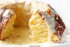 Babka migdałowa z pomarańczami Asi Polish Desserts, Polish Recipes, Polish Food, Cookies And Cream Cake, Cake Cookies, Cupcakes, Sweet Recipes, Cake Recipes, Dessert Recipes