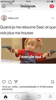 Quand je me retour… - Cyr - Bebe Drole - Ha ha haa Funny Images, Funny Pictures, World Problems, College Humor, Words To Describe, Relationship Memes, Funny Moments, Dankest Memes, Haha