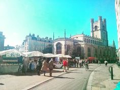 Great day to visit the #marketsquare in #Cambridge #greatstmarys