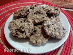 Zdravé cookies s banánom a kokosom