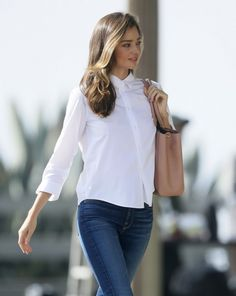 26 Genius Outfit Ideas to Steal From Street-Style Star Miranda Kerr – Celebrities Woman Miranda Kerr Outfits, Miranda Kerr Street Style, Miranda Kerr Hair, Style Désinvolte Chic, Mode Style, First Date Outfits, Cool Outfits, Look Fashion, Fashion Beauty
