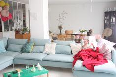 Un très grand salon/canapé
