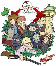 christmas story image vector clip art online royalty free public domain christmas movies - A Christmas Story Free Online