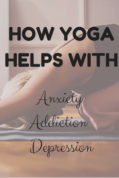 Yoga can relieve so much stress and anxiety, and it's a great thing to do with friends and family.