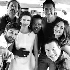 Grimm: Cast; Monroe, Wu, Juliette, Nick, Captain ( Sean), Hank and Rosalee!!!