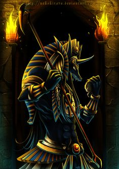 god-of-the-Dead (Anubis) this isn't a dragon, but I just think it's awesome :)