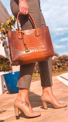 2d5e5203a Bolsa Hollywood Croco Caramelo - Cavage | Loja Online. Bolsa em couro com  estampa troco ...