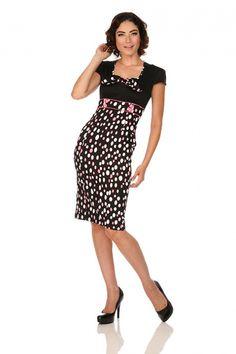 Voodoo Vixen Jan Polka Dot Dress | Jurken | Miss Vintage | Retro, vintage geïnspireerde dames kleding