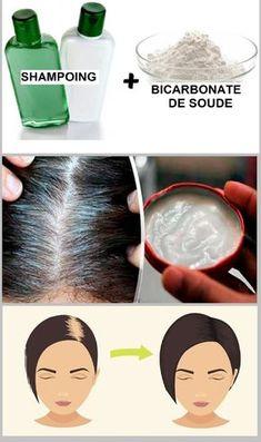 Combattre les cheveux gris et la perte de cheveux avec du bicarbonate de soude