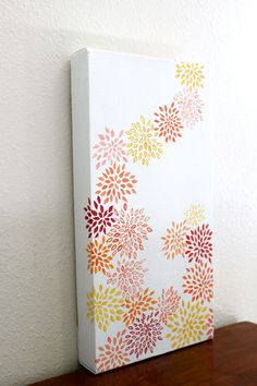 Loving this DIY decoration Idea :) Diy Wall Art, Diy Art, Diy Canvas, Canvas Art, Canvas Prints, Crafts To Do, Arts And Crafts, Decoration Originale, Ideas Geniales