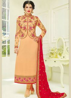 Designer Salwar Suit for only X'mas / New Year Offer. Fabric long Embroidered Velvet Top with Jari work and pure Chiffon dupatta Party. Designer Suits Online, Designer Salwar Suits, Designer Dresses, Designer Anarkali, Latest Salwar Kameez, Salwar Kameez Online, Indian Dresses, Indian Outfits, Indian Clothes