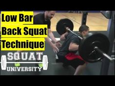 Squat Technique, Back Squats, Front Squat, Killer Workouts, Powerlifting, Barbell, Strength Training, University, Athletes