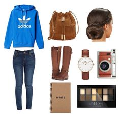 """""""Yes"""" by majesticdreams on Polyvore featuring adidas, Naturalizer, Vince Camuto, Daniel Wellington, Lomography and Maybelline"""