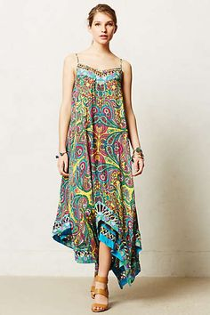 Anthropologie - Kaleidoscope Mosaic Maxi Dress
