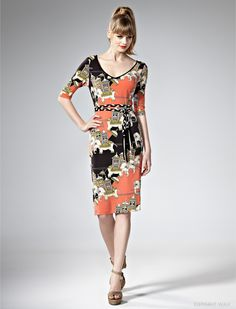 Leona edmiston tiger dress plus