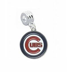 """Chicago Cubs Charm with Connector - Universal Slide On Charm - """"Classic & Original Style"""" - Fits: Pandora, Troll, Biagi & More! Perfect For Custom Bracelets, Necklaces and DIY Jewelry CustomCharms. $12.99. Officially Licensed Team Logo Charm. UNIVERSAL Slide On Charm - Does Not Snap or Scew in Place, SLIDE ON CHARM. Fits: Pandora, Chamilia, Biagi, Troll & More. Perfect for Custom Bracelets & Necklaces. Save 68%!"""