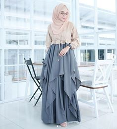 Islamic Fashion, Muslim Fashion, Modest Fashion, Hijab Fashion, Girl Fashion, Fashion Outfits, Stylish Hijab, Casual Hijab Outfit, Stylish Dresses