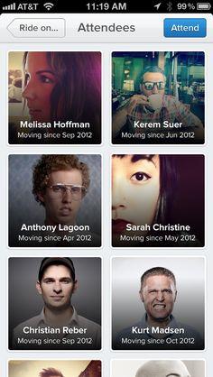 iOS iPhone List of Peeps