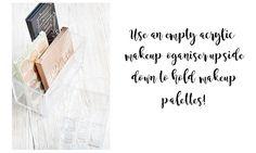 10 Easy DIY Makeup Storage Ideas
