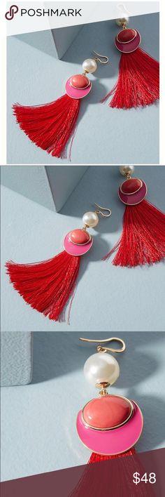 NWT Calida Fringed Earring Gorgeous Calida Fringed Earrings, gold plated. NWT Anthropologie Jewelry Earrings