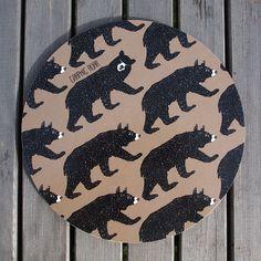 LISALISA - Graphic Wild - Grytunderlägg - 21cm - fika