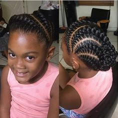Hairstyles For Black Little Girls Kinky Twist Braids For Kids  Google Search  Natural Hair And