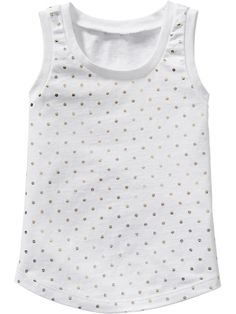 Patterned Jersey Tanks for Baby Product Image