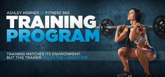 Bodybuilding.com - Fitness 360: Ashley Horner - Training Program - Fitness Forward!