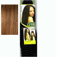 """Wed Apr 13, 2016 - #10: X-Pression Braid Jerry Curl 24"""" - Color F4/30 - Synthetic Braiding"""