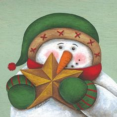 ✴Buon Natale e Felice Anno Nuovo✴Merry Christmas and Happy New Year✴ Christmas Rock, Christmas Snowman, All Things Christmas, Vintage Christmas, Christmas Crafts, Christmas Ornaments, Merry Christmas, Snowman Images, Snowmen Pictures