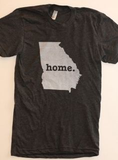I need this shirt...especially now that I've lived in a place longer than 3 years. Georgia is officially my home!