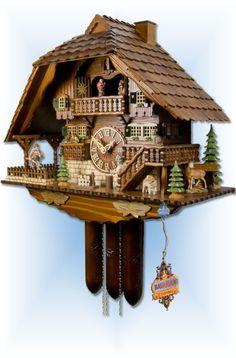 Adolf Herr Chopper & Hunter cuckoo clock 18'' - Bavarian Clockworks
