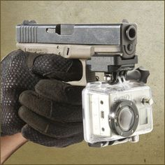 GoPro Pistol Mount for all Weapons: Tactical, Police, Military, Hunting, airsoft | eBay