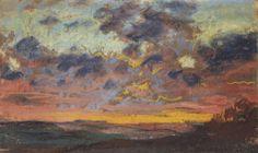 Coucher de soleil (Sunset), 1868 by Claude Monet
