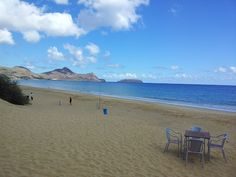 Porto Santo Island today. A beautiful day for exercise and refresh the body.