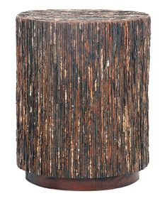 Another great find on #zulily! Brandt Bark Side Table #zulilyfinds
