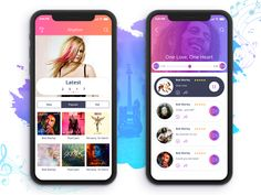 Music app 1600 x 1200