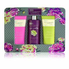 Baylis & Harding Royale Bouquet Limited Edition Assorted 3 Piece Tin Gift Set: Amazon.co.uk: Beauty