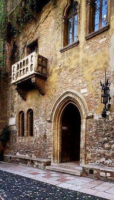 Casa di Giulietta.. Verona, Italy