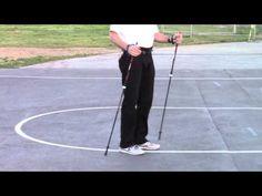 """Nordic Walking - """"How to"""" with LEKI poles - YouTube"""
