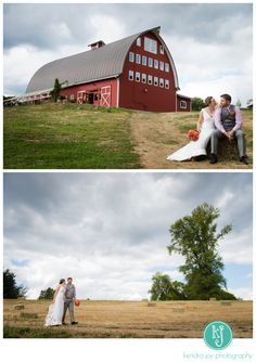 Pacific Northwest wedding at Red Barn Studios. Images by Kendra Joy Photography. www.kendrajoyphotography.com