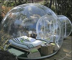 Outdoor Single Tunnel Inflatable Bubble Tent Family Camping Backyard Transparent - inflatable bubble tent