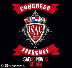 #Repost @isacpanama_ with @repostapp.  Congreso #SerChef  Sabado 26 de Noviembre  Atlapa  #NoTeLoPierdas  Quieres  #SerChef ?? Carreras SABATINAS 90% prácticas aprobadas por MEDUCA Chatéanos al 69679673  #Panama #escueladecocina #gourmet #cook #truecooks #cheflife #food #instachef #chefart #theartofplating #gastroart #gastronomía #gourmetartistry #caribbeanculinarycollective #cocina #cocinamoderna #foodlovers #modernistcuisine #cocinamolecular #modernistcuisine #foodart #venezuela…