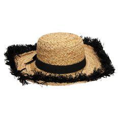 kate spade Fringed Straw Sun Hat - #VonMaur - A summer must have!
