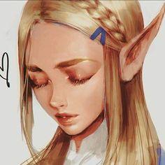 TLoZ: BoTW; Princess Zelda