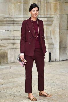 20 Looks with Giovanna Battaglia ( Street style) Glamsugar.com Giovanna